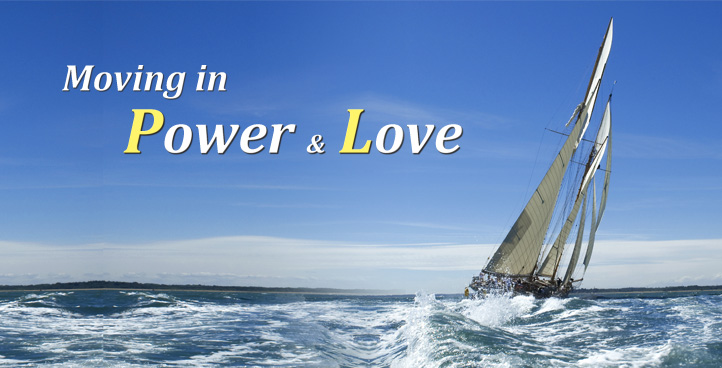 Moving in Power & Love