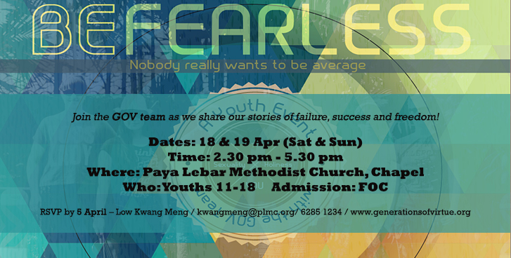 Be fearless web Banner